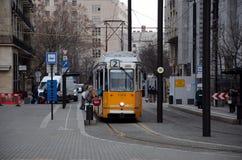 运输在布达佩斯 免版税库存图片