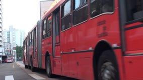 运输在库里奇巴-巴西 影视素材