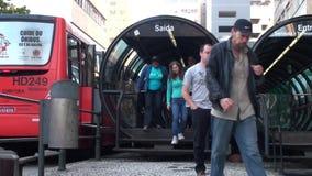 运输在库里奇巴-巴西 股票录像