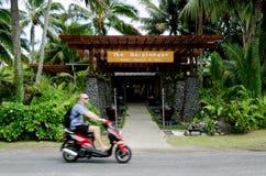 运输在拉罗通加库克群岛 库存照片