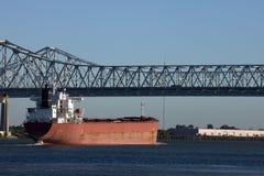 运输在新奥尔良,路易斯安那 库存照片