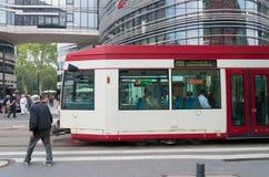 运输在杜塞尔多夫 免版税库存照片