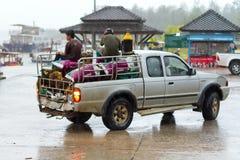 运输在泰国 免版税库存照片