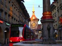 运输在瑞士是首屈一指的 免版税库存照片