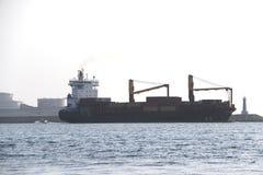 运输小船 库存图片