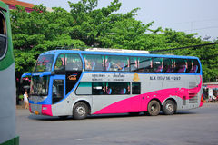 运输政府公司双甲板没有benze VIP的公共汽车 18-997 库存照片