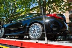运输的新的汽车 免版税图库摄影