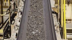 运输石渣使用机器 股票录像