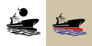 运输船标志 皇族释放例证