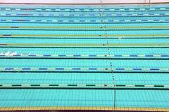 运输路线池游泳 库存图片