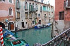 运输连接在威尼斯 库存照片