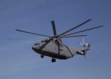 运输直升机米-26 库存图片