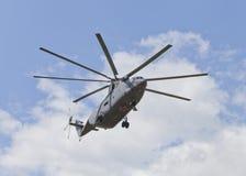 运输直升机米-26 免版税库存照片