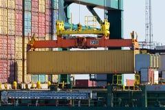 运输货柜 免版税图库摄影