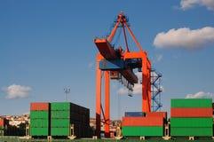 运输货柜 免版税库存图片