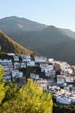 近早期的marbella早晨ojen西班牙城镇 库存照片