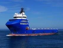 近海供应船15c 库存图片