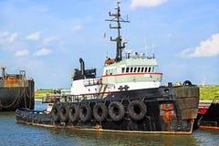 近海拖轮 免版税库存照片
