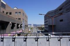 近街道从Daigo驻地,京都,日本 免版税库存照片