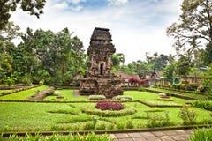 近Candi Kidal寺庙玛琅,东爪哇,印度尼西亚。 免版税库存图片