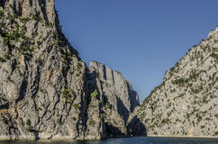 近Sahinkaya峡谷到Vezirkopru区,萨姆松市,土耳其 库存图片