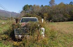 返回到自然的卡车 免版税库存照片