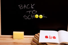返回去学校 免版税库存照片
