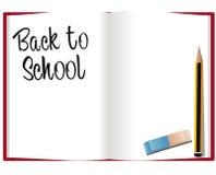 返回学校 免版税库存照片