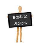 3返回学校 免版税库存照片