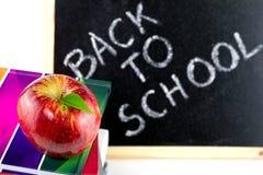 返回有准备好的学校  免版税库存照片