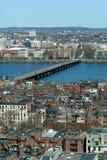 返回海湾波士顿 免版税图库摄影