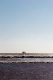 返回从巡航的渔船 essaouira摩洛哥 库存图片