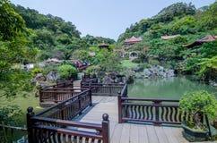 这一土地nanyuan在台湾 免版税库存图片