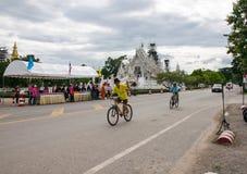 这个事件为妈妈事件的自行车准备从泰国 图库摄影