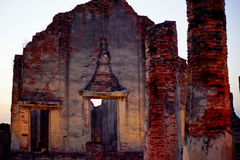 这个图象是关于岩石城堡,泰国 库存照片