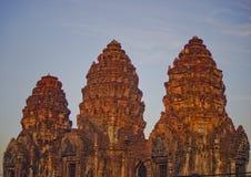 这个图象是关于岩石城堡,泰国 图库摄影