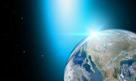 这个图象的地球或世界元素由美国航空航天局装备了 皇族释放例证