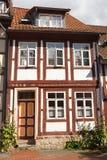 这个房子是18世纪修造 免版税库存照片