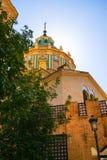 大教堂圣胡安De Dios,格拉纳达,西班牙 免版税库存照片