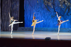 这个永恒芭蕾传说 免版税库存照片