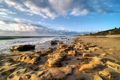这个海滩晃动 免版税图库摄影