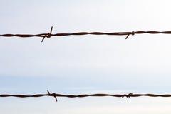 简单的铁丝网摘要 免版税图库摄影