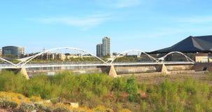 可膨胀的橡胶水坝,坦佩,亚利桑那 免版税库存照片