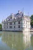 这座城堡在XVIth世纪被修造了 库存照片