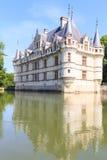 这座城堡在XVIth世纪被修造了 免版税库存图片