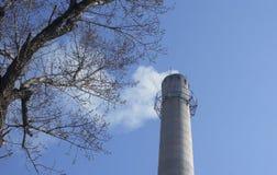 环境保护和污染 免版税库存照片