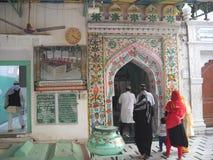 这是伊斯兰教的祈祷magar 库存图片