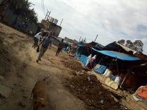这是在埃塞俄比亚的首都 免版税图库摄影