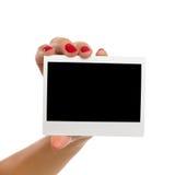 这是您的Polarid照片 库存照片