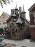 这是真正地好的微型城堡 免版税库存照片